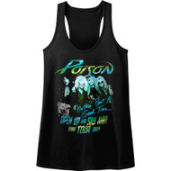 Poison Tour Nothin But A Good Time Talk Dirty Rock Womens Tank Top
