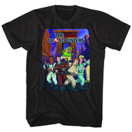 The Real Ghostbusters Animated TV Series Poster Adult T-Shirt Tee