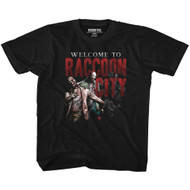 Resident Evil Welcome To Rc Black Youth T-Shirt Tee