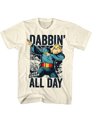 Flash Gordon 1930's Comic Strip Dabbin All Day Search For Adult T-shirt Tee
