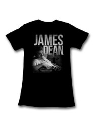 James Dean 1950's American Dream Heartthrob Icon Actor Rebel� Juniors T-Shirt