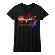 Devil May Cry Video Game Action Adventure Combat Face Demons Juniors T-Shirt Tee