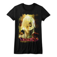 Devil May Cry Video Game Action Adventure Combat Grungestare Juniors T-Shirt Tee