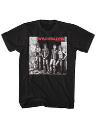 Bill & Ted's Excellent Adventure Movie Wyld Stallyns Rocket Adult T-Shirt Tee