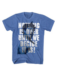 Animal House 1970's College Frat Movie Nothing Is Over Adult T-Shirt Tee