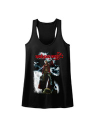Devil May Cry Action Adventure Video Game Dante's Awakening Womens Raw Edge Tank