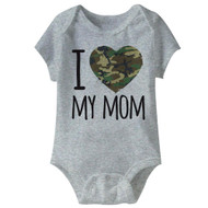 American Classics Army Mom Infant Baby Snapsuit Romper
