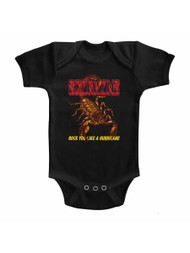Scorpions German Rock Band Irl Solid Infant Baby Romper Creeper Snapsuit