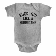 Scorpions German Rock Band Like A Hurricane Solid Infant Baby Romper Snapsuit