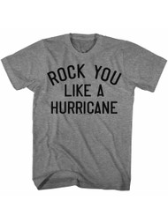 Scorpions German Rock Band Like A Hurricane Graphite Heather Adult T-Shirt Tee