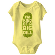American Classics Big Dill Infant Baby Snapsuit Romper