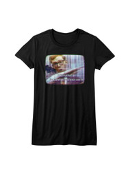 Hai Karate Aftershave Fragrance Careful How You Use It TV Screen Juniors T-Shirt