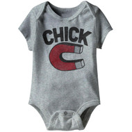 American Classics Chick Magnet Infant Baby Snapsuit Romper