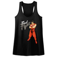 Final Fight Video Arcade Game Martial Artist Guy Womens Tank Top Tee
