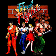 Final Fight Video Arcade Game Cast Of Fighting Characters Juniors T-Shirt Tee