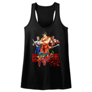 Final Fight Video Arcade Game Cast Of Fighting Characters Womens Tank Top Tee