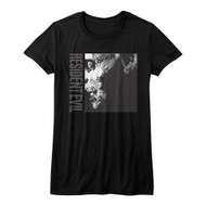 Resident Evil Horror Science Fiction Video Game Scary Zombie Juniors T-Shirt Tee