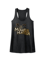 Monster Hunter Capcom Mh Logo Action Role Playing Video Game Womens Tank Top