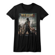 Dead Rising Survival Horror Video Game Zombie Attack Army Juniors T-Shirt Tee