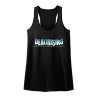 Dead Rising Survival Horror Video Game Zombie Logo Womens Tank Top Tee
