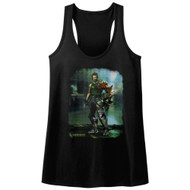 Bionic Commando Arcade Video Game Mechanical Robot Damaged Road Womens Tank Top