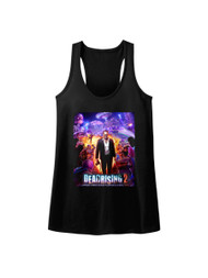 Dead Rising 2 Survival Horror Video Game Zombie Purple Action Womens Tank Top T