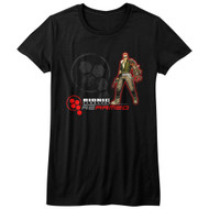 Bionic Commando Arcade Video Game Mechanical Robot Rearmed Juniors T-Shirt Tee