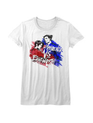 Ace Attorney Defense Trial Video Game Phoenix Vs Edgeworth Juniors T-Shirt Tee