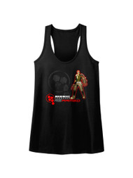 Bionic Commando Arcade Video Game Mechanical Robot Rearmed Womens Tank Top Tee