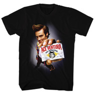 Ace Ventura: Pet Detective Comedy Movie Poster Card Adult Mens T-Shirt Tee