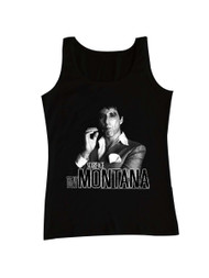 Scarface 1980's Gangster Crime Movie Al Pacino as Tony Montana Adult Tank