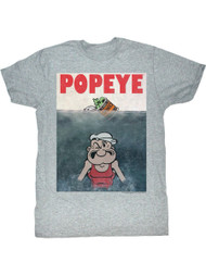 Popeye Beware Of Popeye Adult T-Shirt Tee