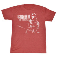 Conan Movie Conan White Adult T-Shirt Tee