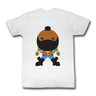 Mr. T Bubble T Adult T-Shirt Tee