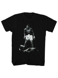 Muhammad Ali Ali Over Liston Adult T-Shirt Tee