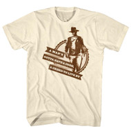 John Wayne Hollywood Icon Actor A Creed To Live By Adult Mens T-Shirt Tee