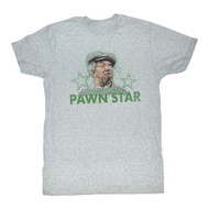 Red Foxx Pawn Star3 Adult Mens T-Shirt Tee