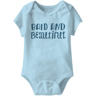 American Classics Bald Infant Baby Snapsuit Romper