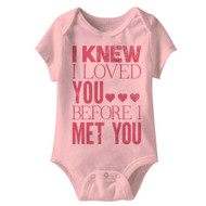 American Classics I Knew It Infant Baby Snapsuit Romper