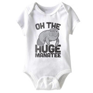 American Classics Huge Manatee Infant Baby Snapsuit Romper