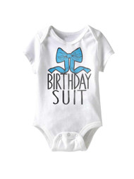 American Classics Birfday Boy Infant Baby Snapsuit Romper