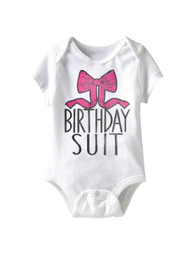 American Classics Birfday Girl Infant Baby Snapsuit Romper
