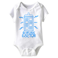 American Classics Future Doctor Infant Baby Snapsuit Romper