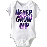 American Classics Never Infant Baby Snapsuit Romper