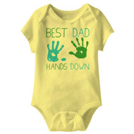 American Classics No Hands Infant Baby Snapsuit Romper