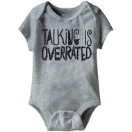American Classics Overrated Infant Baby Snapsuit Romper