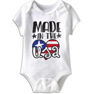 American Classics Usa Infant Baby Snapsuit Romper