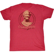 Red Foxx Champipple Adult T-Shirt Tee