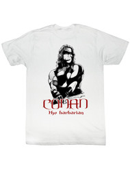 Conan Movie Conan Black And Red Adult T-Shirt Tee