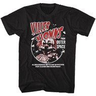 Killer Klowns From Outer Space 80s Horror Movie Alien Bozos With an Appetite Image Adult T-Shirt Graphic Tee